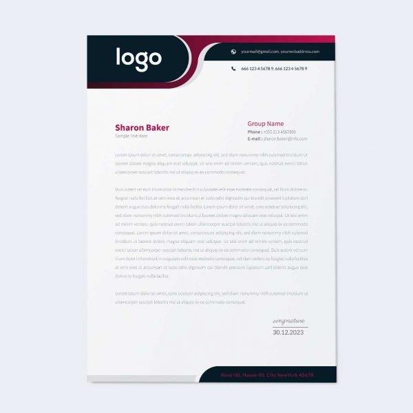 Letter-Head-Mockup